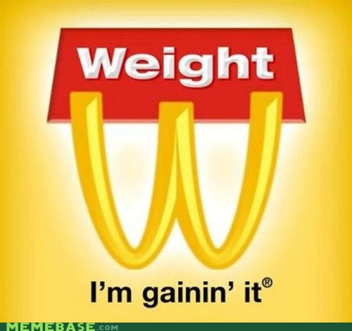 golden arches McDonald's weight