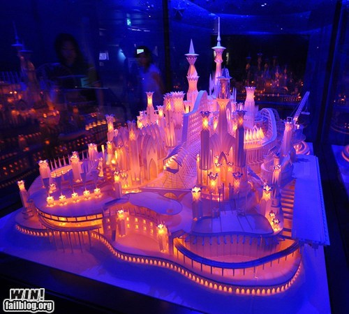 art,castles,paper,papercraft,pretty colors,sculpture