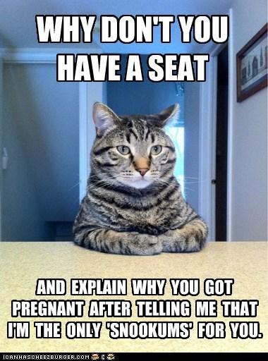 baby child chris hansen cat explain Memes pregnant snookums - 6441812224