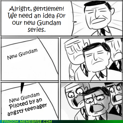 cartoons gundam It Came From the It Came From the Interwebz meanwhile at new ideas TV - 6442548736