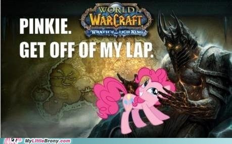lich king,pinkie pie,the internets,world of warcraft