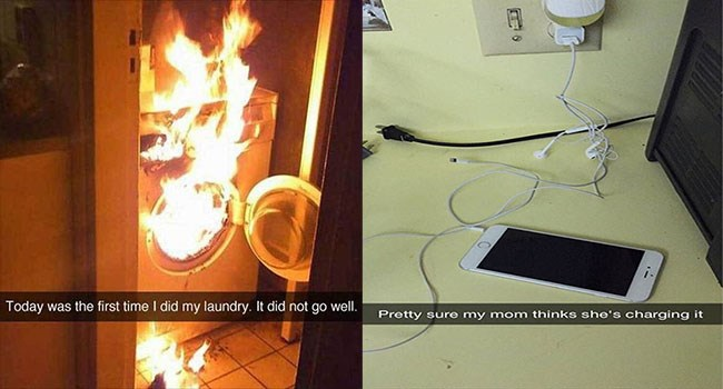 snapchats of the most epic fails ever