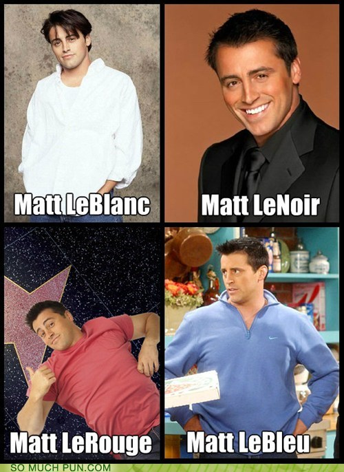 clothing colors french matt leblanc surname - 6443028224