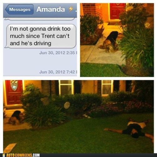 amanda drinking and driving passed out too much to drink Trent - 6443035392