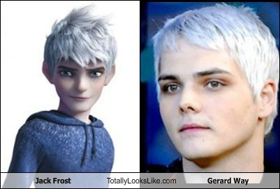 celeb funny gerard way jack frost Music TLL - 6443063296