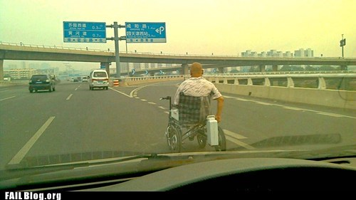 highway road wheelchair