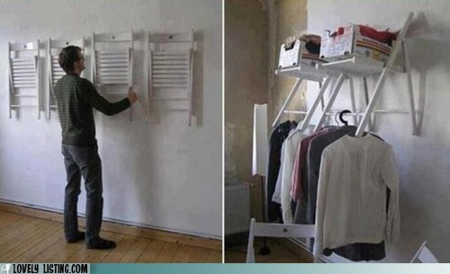 chairs hang smart storage wall - 6443452928