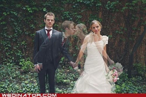 bride funny wedding photos groom KISS photography - 6443460864