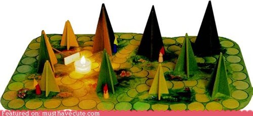 board game fire game gnomes grees shadows