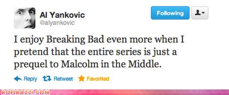 tweet,Weird Al Yankovic