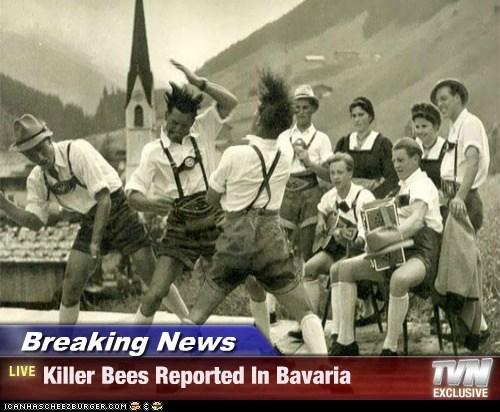 bavaria bees dance lederhosen - 6443750656