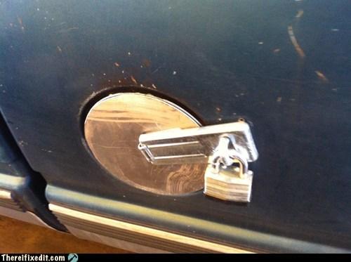 gas cap gas tank lock masterlock padlock - 6443898880