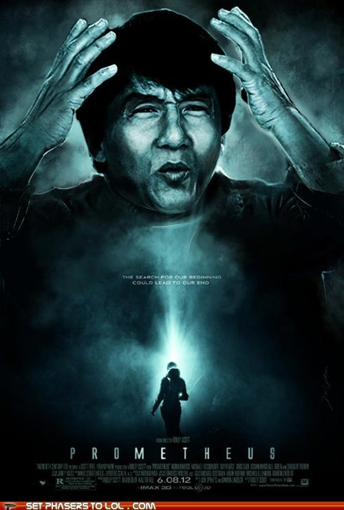 Aliens baffled jackie chan meme my brain is full of prometheus what - 6443945728