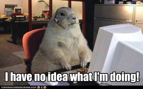 clueless computer confused gopher i-have-no-idea-what-im-d i have no idea what im doing prarie dog tech support - 6443970560