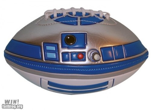 football nerdgasm r2-d2 star wars - 6444389376