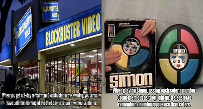 90s life hacks