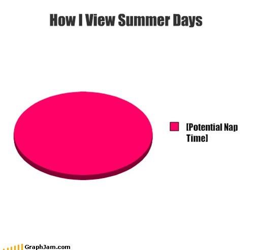lazy Pie Chart summer break - 6444728064