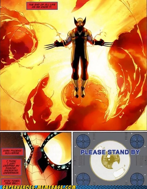 phoenix Spider-Man Straight off the Straight off the Page wolverine - 6444818944