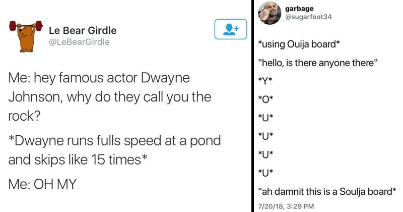 Funny tweets.