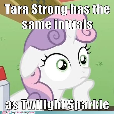 meme,Sweetie Belle,tara strong,twilight sparkle