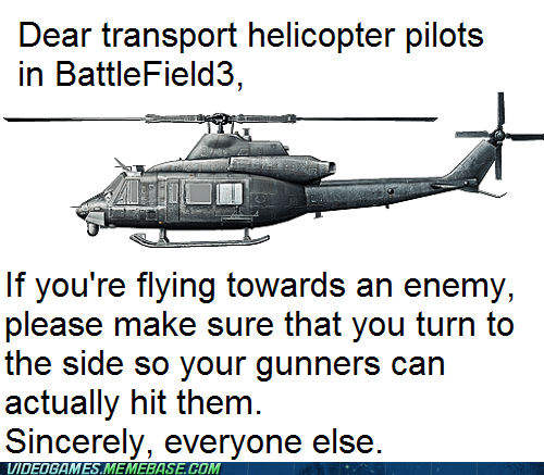 battlefield helicopter just so you know psa the feels - 6445858048
