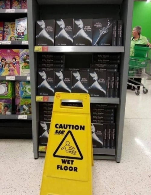 50 shades of grey,suggestive advertising