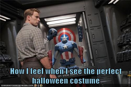 avengers captain america chris evans halloween costume how i feel perfect steve rogers - 6445907200