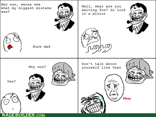 Okay,parenting,Rage Comics,troll dad