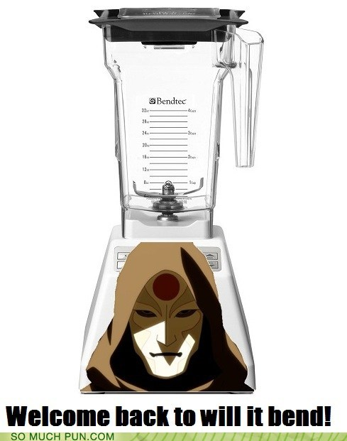 amon Avatar bend bender blend blender letter similar sounding The Legend of Korra