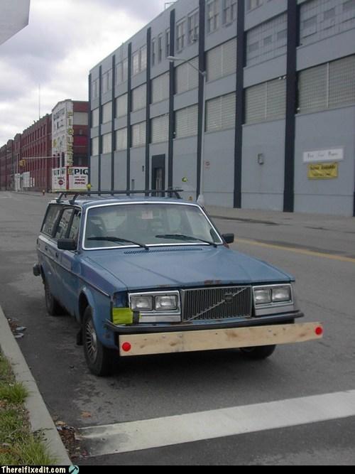 bumper,volvo,wood,wooden bumper