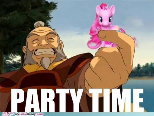 Avatar meme party time pinkie pie - 6446615808