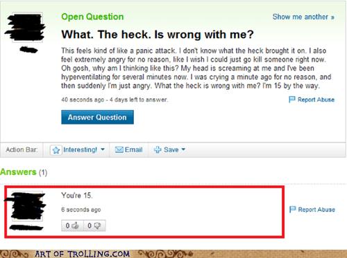 emotions feels fifteen teenager Yahoo Answer Fai Yahoo Answer Fails - 6446823680
