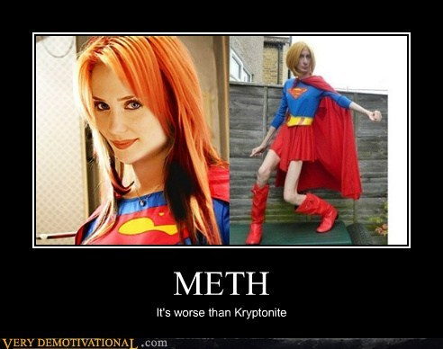 costume hilarious kryptonite meth supergirl