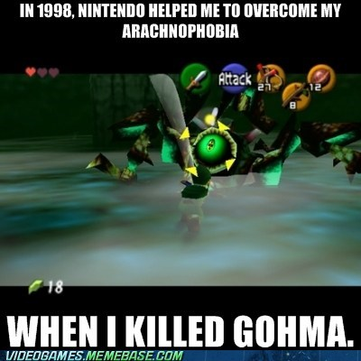 best of week,gohma,ocarina of time,spiders,zelda