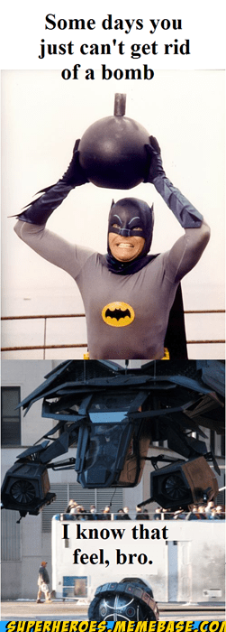 Adam West would be proud of you Chris