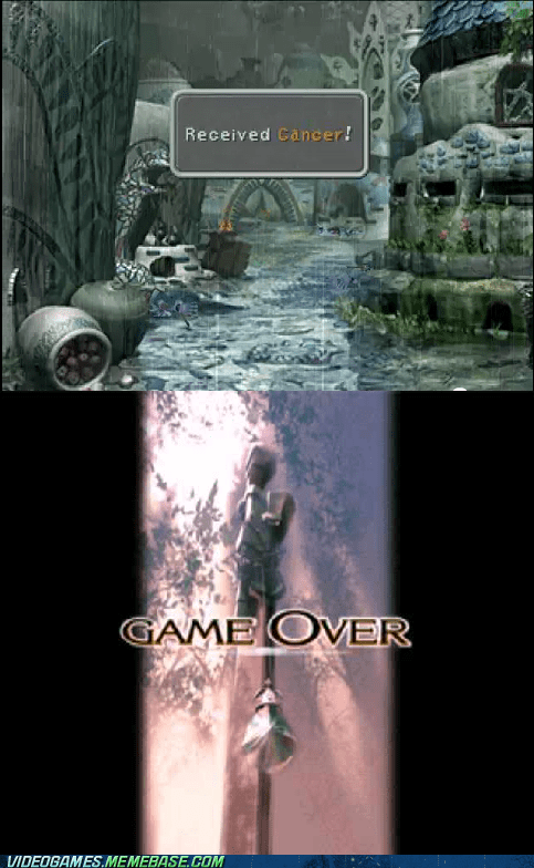 cancer comic final fantasy game over IX that post gave me cancer