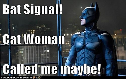 Bat signal batman bruce wayne call me maybe catwoman christian bale - 6448136448