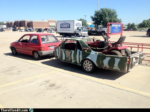 geo metro,hauler,towing,trailers