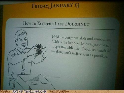 calendar,doughnuts,IRL,tips