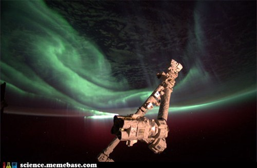 astronaut,Astronomy,southern lights,space