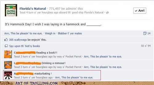 facebook faptimes orange juice that sounds naughty