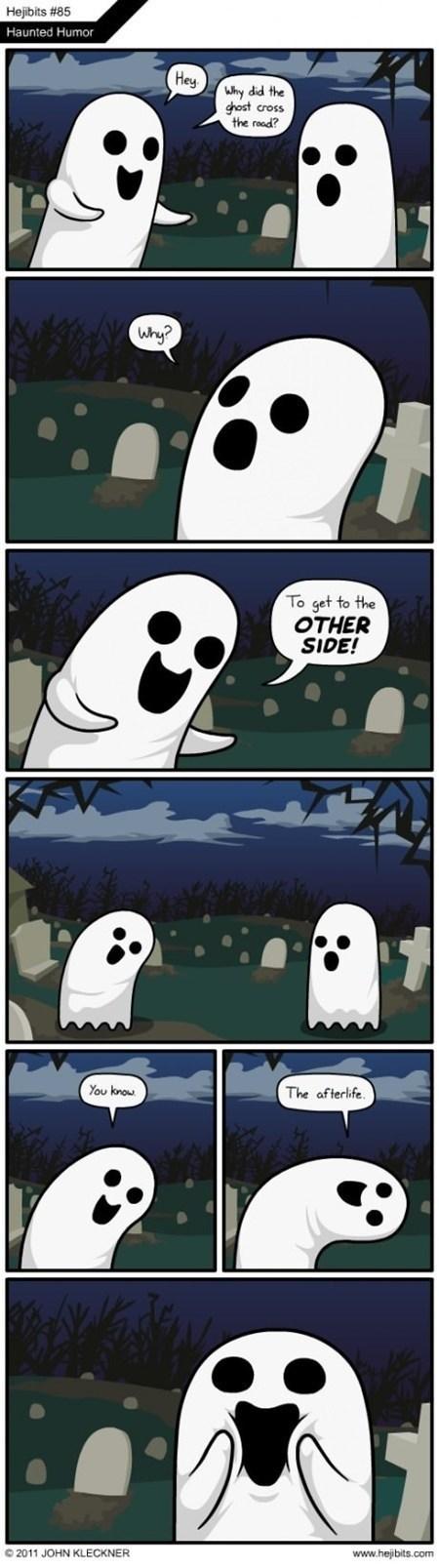 ghosts graveyard jokes Memes the internets - 6448840960