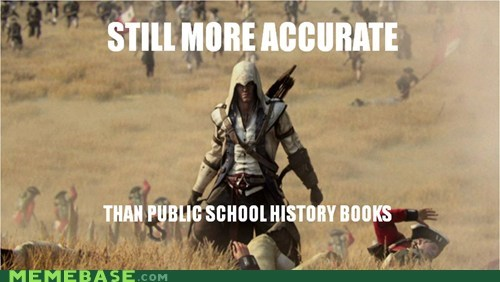 accurate assassins creed history books school the internets - 6449227520