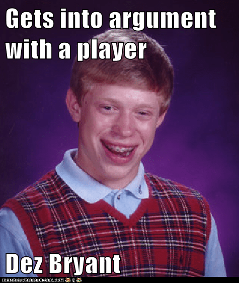 Gets Into Argument With A Player Dez Bryant Memebase