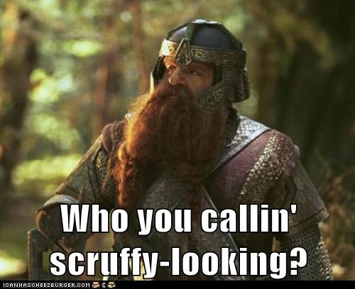 gimli,Han Solo,john rhys-davies,Lord of the Rings,nerf herder,scruffy,star wars quotes