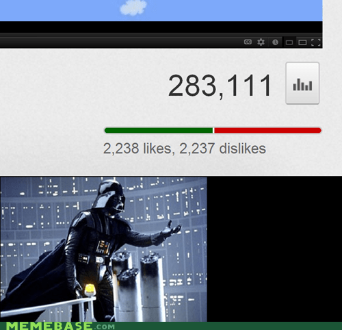 dark side,darth vader,Memes,star wars,youtube