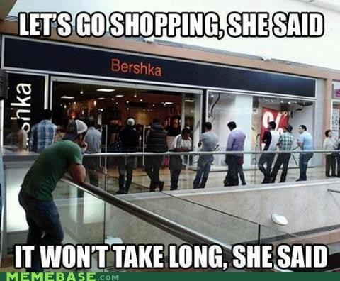girls long shopping They Said - 6450065152