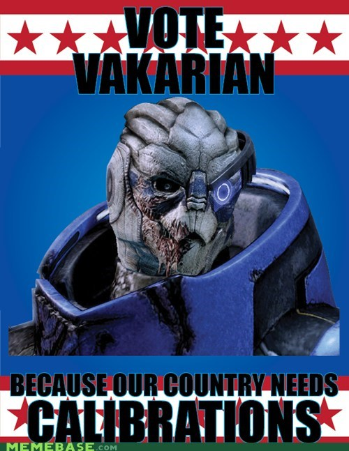 best of week calibrations Garrus mass effect meme vote vakarian - 6450141184