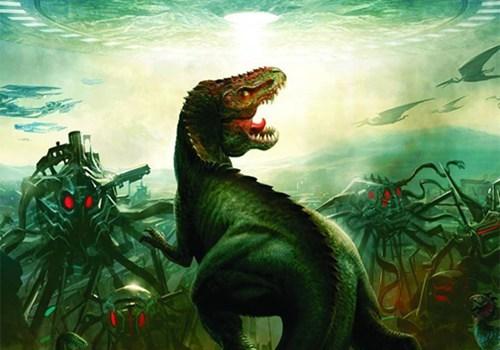 dinosaucers,Dinosaurs Versus Aliens,grant morrison,motion comics