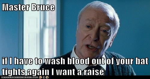 alfred pennyworth,michael caine,raise,the dark knight rises,tights,wash